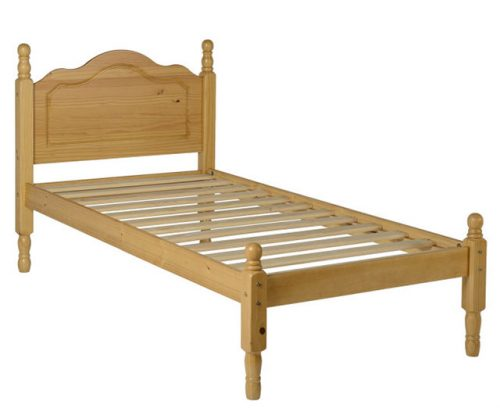 Sol Antique Pine Bed Frame